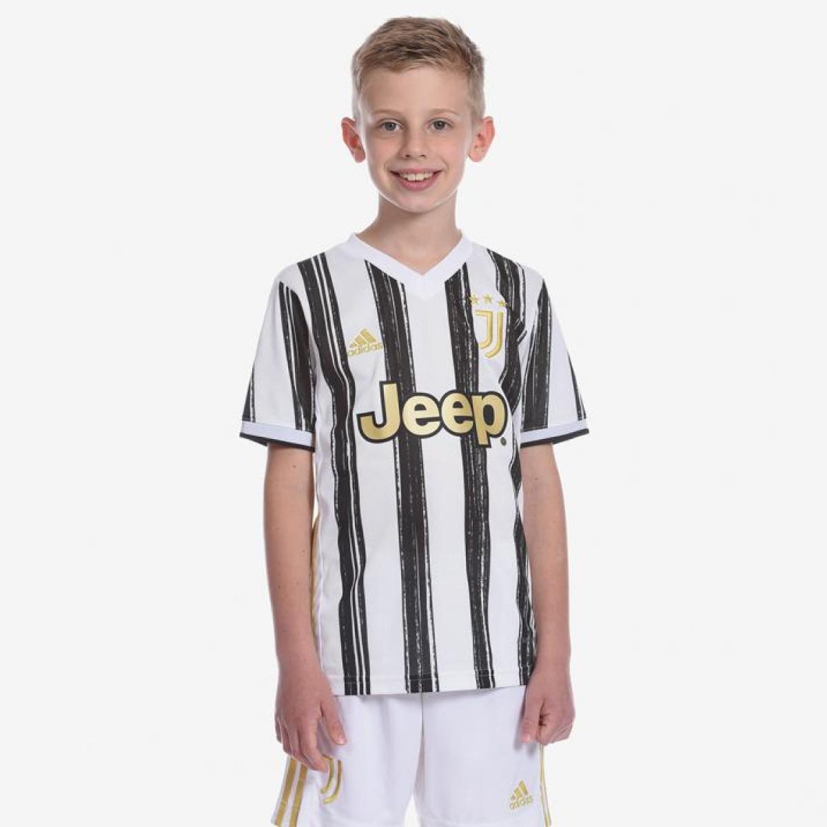 Juventus Maglia Gara Home Bambino 2020/21